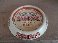 Metal VAUX Samson Great North Beer Ashtray 15cm diameter