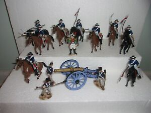 toy soldiers alamo mexican lot 54mm
