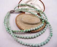 Necklace Jade Silver Art Deco Fine Jewellery