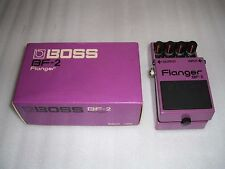 Boss BF-2 Flanger Guitar Effect Pedal w/ORIGINAL BOX MADE IN JAPAN