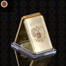 WR GIFT Soviet 1oz Gold Bar USSR Medal Gold Bullion Bars Ingot Bar Gifts for Men