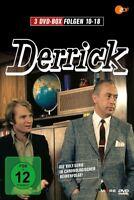 DERRICK  VOL.02 - FOLGEN 10 - 18 3 DVD NEUF  HORST TRAPPERT/FRITZ WEPPER/+