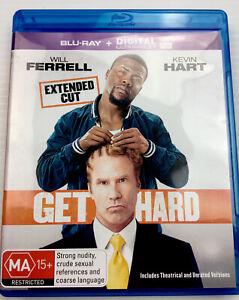 Get Hard - Will Ferrell, Kevin Hart, Blu-ray, Region B, with Tracking, MA15+
