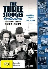 Three Stooges - 1937-1939 : Vol 2 (DVD, 2016, 2-Disc Set) New Region 4