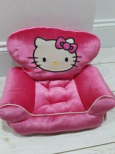 Build A Bear Armchair - Pink Velour Hello Kitty