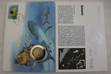 BAHAMAS 10 CENTS 1985 COIN COVER B28 CAN15