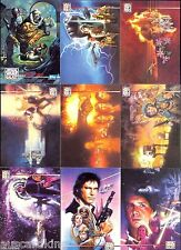 Star Wars - Galaxy Series 3 - Complete Card Set (90) + 12 Lucasarts Chase Set NM