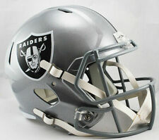 Riddell Speed Replica Football Helmet - NFL Oakland Raiders
