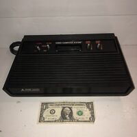 Atari 2600 4 Switch Replacement VADER BLACK System CONSOLE ONLY Tested Working