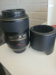 Nikon AF Micro-Nikkor 105mm f/2.8 Macro Lens - Good Condition, works Perfect