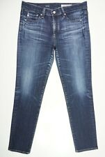 AG Adriano Goldschmied The Beau Slouchy Skinny Denim Whiskering 28R Jeans 31x28