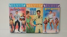 Elvis Presley VHS Movie Classic Collection (Lot of 3)