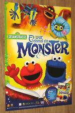 Sesame Street Once Upon a Monster German Poster 59x42cm