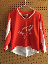 Rare Arizona Phoenix Coyotes Orange Jersey Youth Size Medium K1