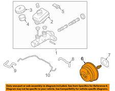 Infiniti NISSAN OEM 05-06 G35-Power Brake Vacuum Booster 47210AC425