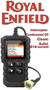 Royal Enfield 2018-2020 FI OBD fault code scanner diagnostic tool