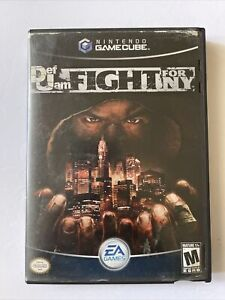 Def Jam: Fight for NY (Nintendo GameCube, 2004) Manuel Included