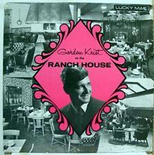 GORDON KRIST at ranch house hammond organ LP Mint- Private 1968 Lounge Exotica
