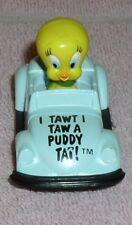 Looney Tunes Tweety bird in race car Warner Brother Die Cast Metal