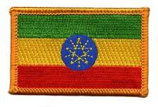 Parche bandera PATCH ETIOPIA 7x4,5cm bordado termoadhesivo nuevo