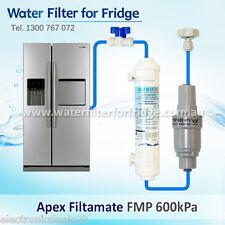 FMP 600 Filtamate® + Water Line Hose Kit 1/4 inch + Compatible Water Filter SET