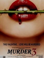 MURDER 3 - RADEEP HODA - SARA LOREN - NEW ORIGINAL BOLLYWOOD DVD