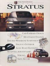 1995 Dodge Stratus 10-page Original Sales Brochure