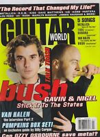 JAN 1997 GUITAR WORLD vintage music magazine BUSH