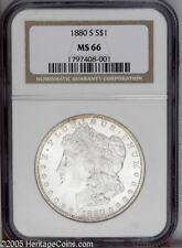 1880-S Morgan Dollar NGC MS66 Well Struck!
