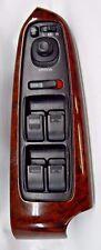 01-2005 ACURA DMX WINDOW SWITCH MASTER CONTROL Woodgrain & Black OEM