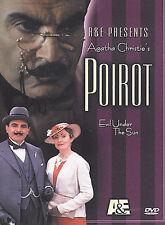 Hercule Poirot - Evil Under the Sun (DVD, 2002) David Suchet A&E Agatha Christie