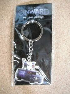 2020 Disney Pixar Onward Keychain Theatrical Promotion Theater Exclusive. NEW