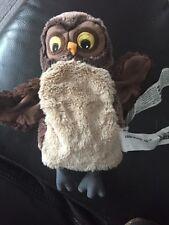 IKEA VANDRING UGGLA Brown Owl Hand Glove Puppet Educational Sensory Soft Toy A4