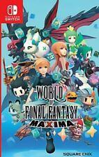 World of Final Fantasy Maxima Nintendo Switch Asian Physical English