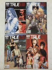 4x TRUE BLOOD Comic #1 A B C D VARIANT Set HBO SERIES~ J SCOTT CAMPBELL IDW 2010