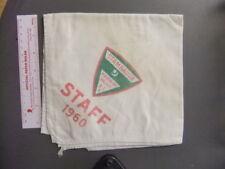 Boy Scout Camp Stambaugh 1960 STAFF Neckerchief Mahoning Valley Council 1957CC