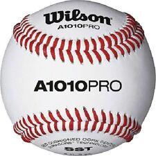 Wilson A1010PRO High School/College Level NFHS Stamped Baseballs (1 dozen)