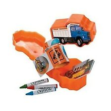 2  x CONSTRUCTION FILLED STATIONERY SET KIDS FAVOUR LOOT BAG FILLERS GIFT TOYS