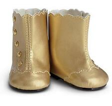 American Girl FANCY GOLDEN BOOTS ~Perfect for Isabelle, Samantha, Saige ~NIB