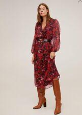 Woman guipure applique dress size XS UK 6 new,mango MNG.//.