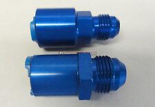 LT1 LT4 LS1 LQ4 LQ9 Fuel Rail Adapter Fittings Feed/Return AN 8/6 PUSH ON BLUE