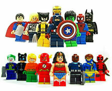 16PC Marvel Avengers DC Super Hero Mini Figure Set Fits LEGO AU SELLER