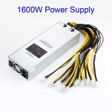 1600W PSU Netzteil Miner Mining Stromversorgung für 176-264V AntMiner APW3 S9 S7
