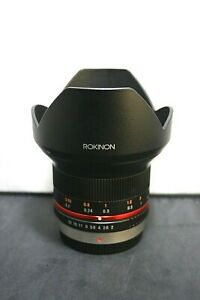 Rokinon 12mm F2.0 NCS CS MFT Fixed Lens for Panasonic Lumix