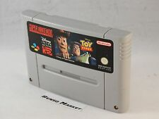 DISNEY'S TOY STORY NINTENDO SNES SUPER NES 16 BIT PAL CARTUCCIA LOOSE ORIGINALE