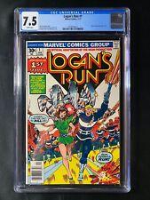 Logan's Run #1 CGC 7.5 (1977) - Movie adaptation part 1 of 5