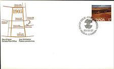 CANADA 1. Day of Issue Cover Brief FDC 17 Cent Saskatchewan Briefmarke Stamp