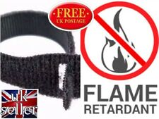 VELCRO® BRAND CABLE TIE ONE WRAP® FIRE RETARDANT  20mm x 200mm BLACK x 10