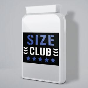 SIZE CLUB - STRONGEST MALE ENHANCEMENT PILLS - (90 PILLS)