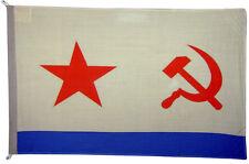 USSR Marine Flag Large 5 x 3' - Soviet Union Socialist Russia Hammer Star Sickle